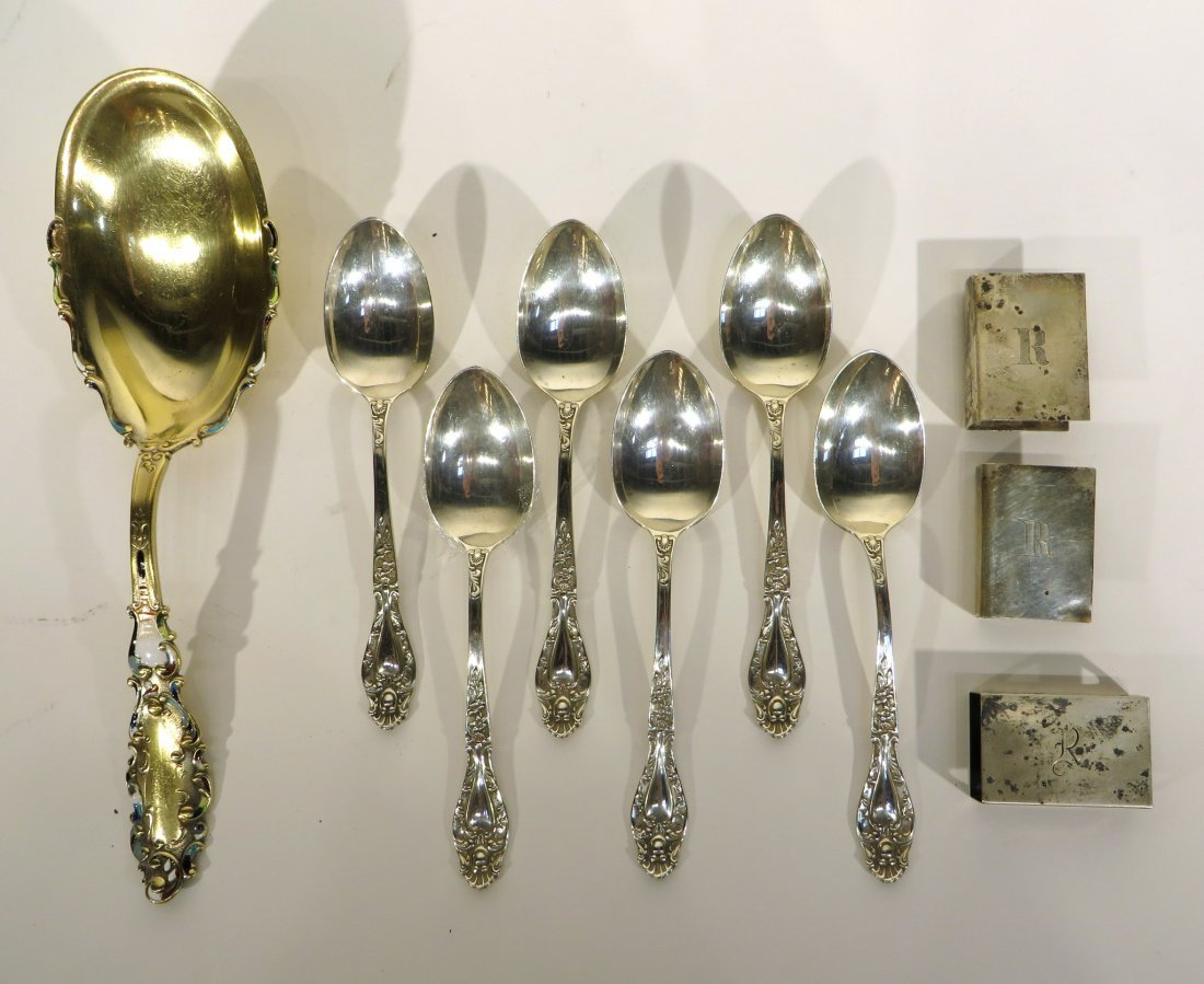 ECLECTIC COLLECTION OF STERLING ITEMS