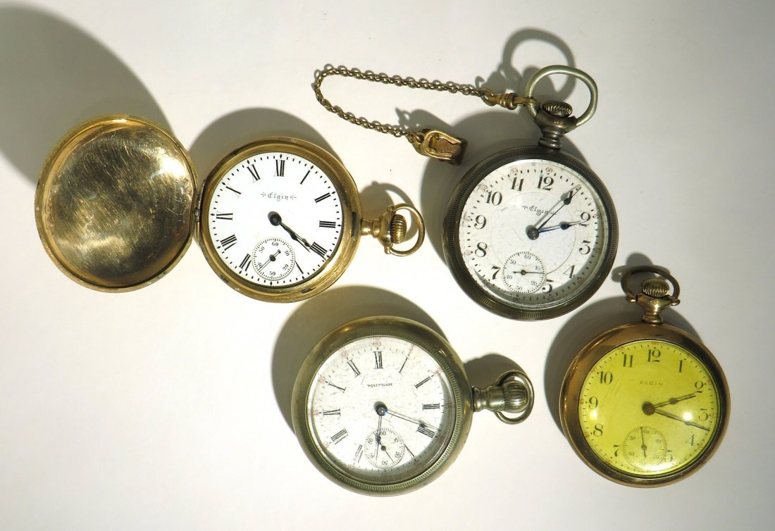 GROUP 4 POCKET WATCHES