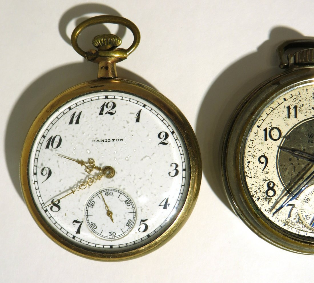 GROUP THREE POCKET WATCHES - 2