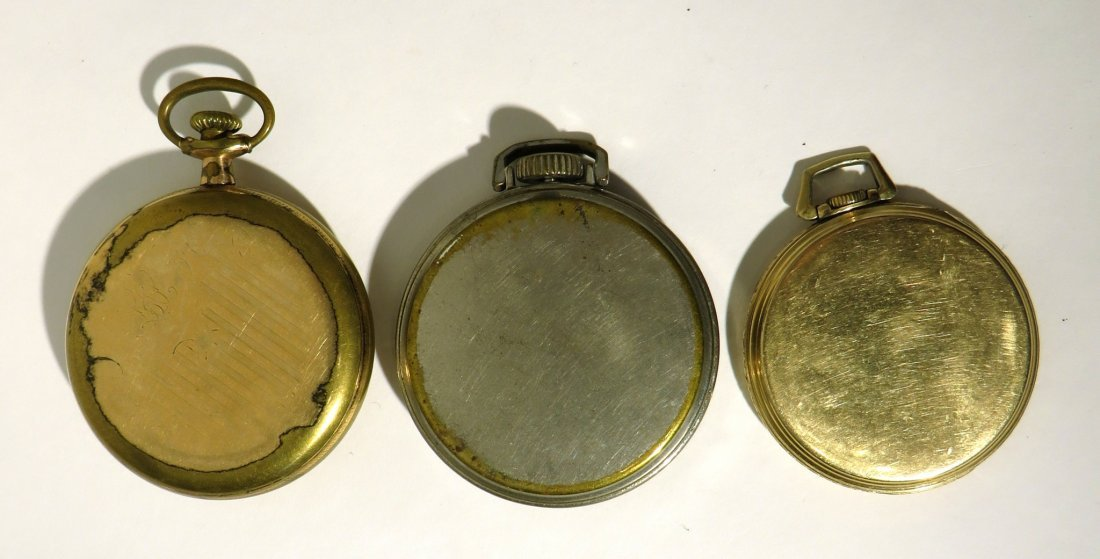 GROUP THREE POCKET WATCHES - 3