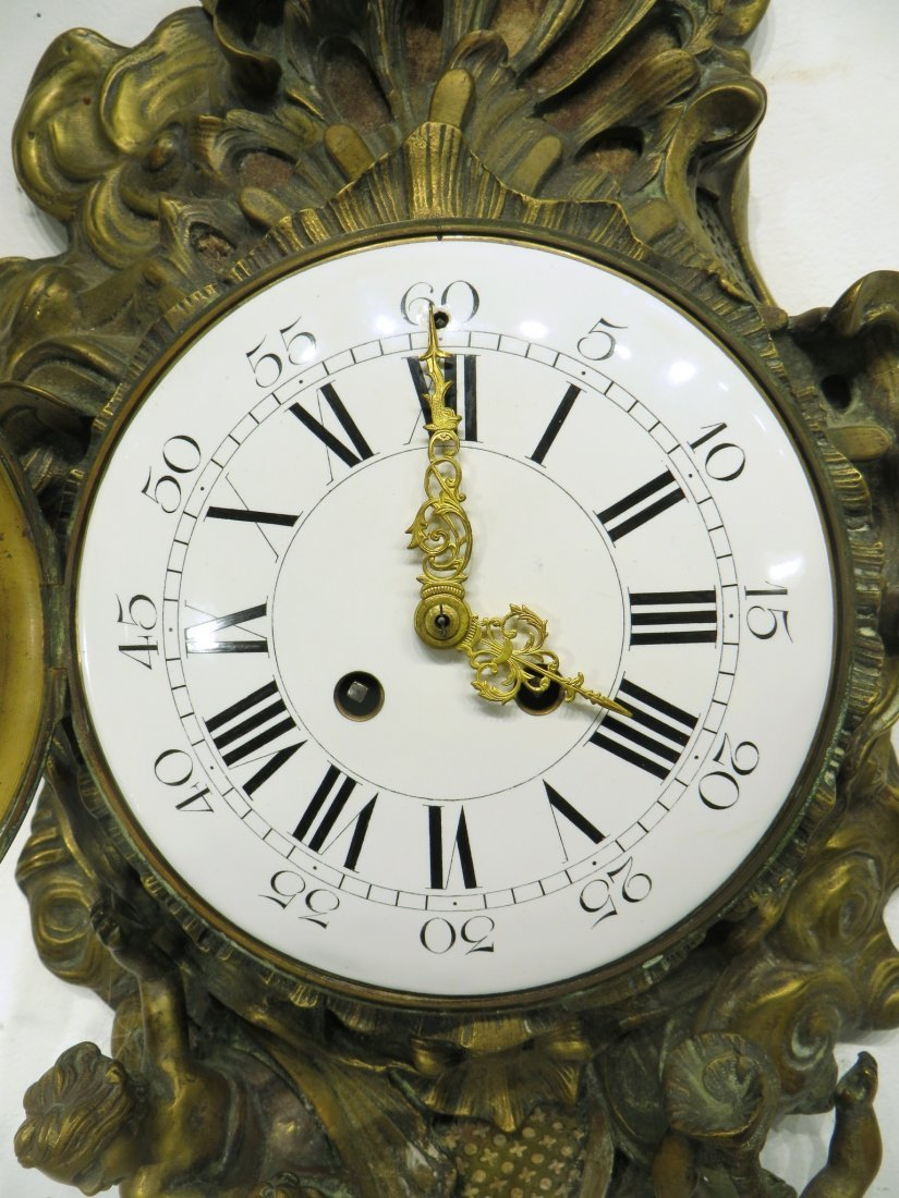 FRENCH CARTEL CLOCK - 2
