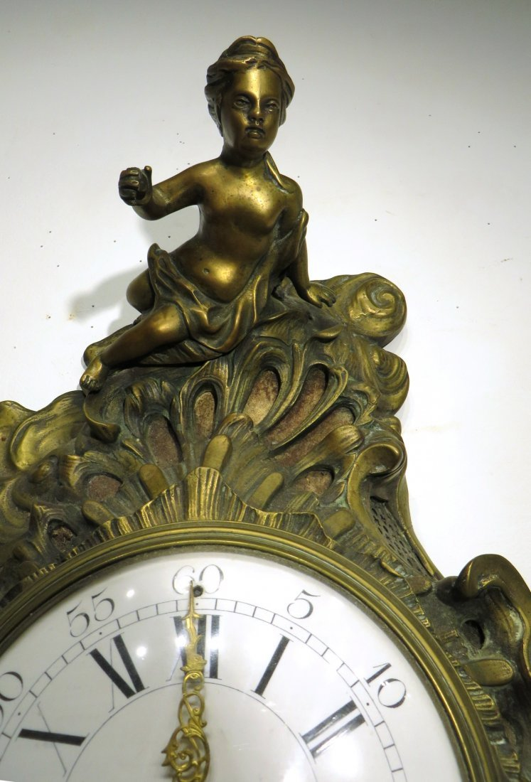 FRENCH CARTEL CLOCK - 3