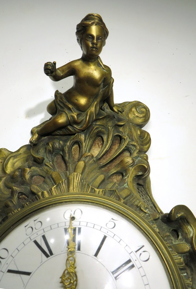 FRENCH CARTEL CLOCK - 4