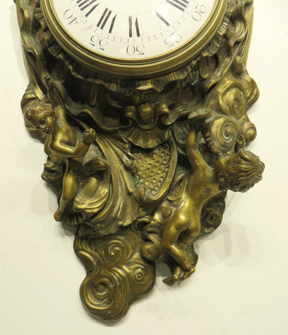 FRENCH CARTEL CLOCK - 5