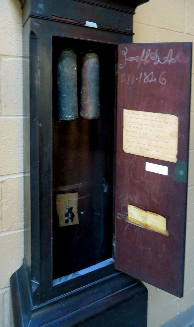 TALL CASE CLOCK BY DAVID WEATHERLY - 6