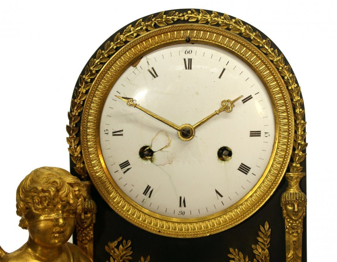 EARLY 19TH C. FRENCH MANTEL CLOCK - 2