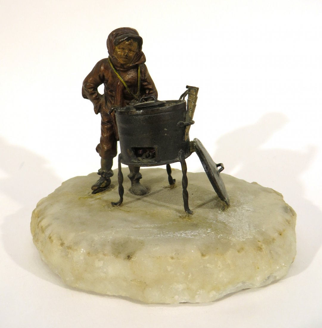 COLD PAINTED BRONZE CASTING - 2
