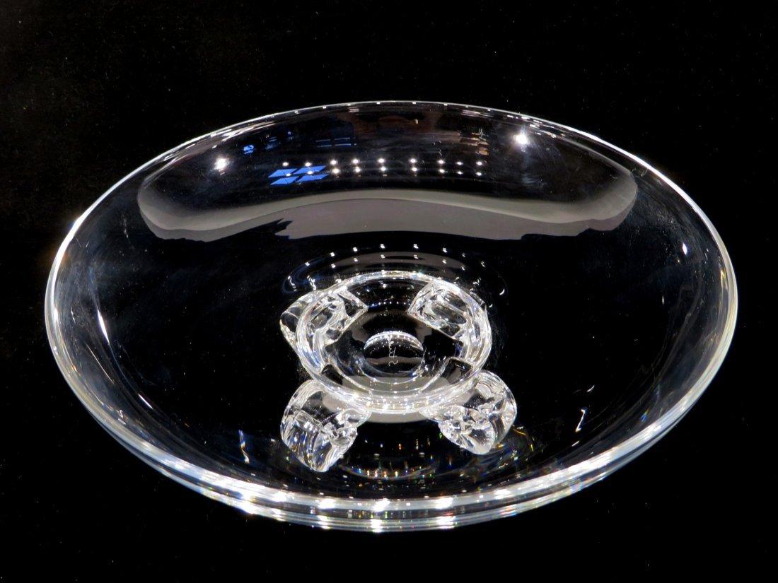 STEUBEN GLASS BOWL - 5