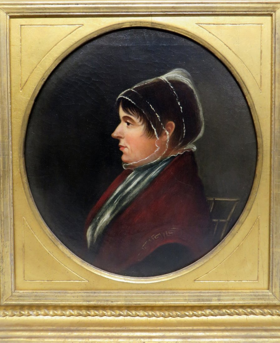 PAIR OF 19TH C PORTRAITS ON CANVAS - 5