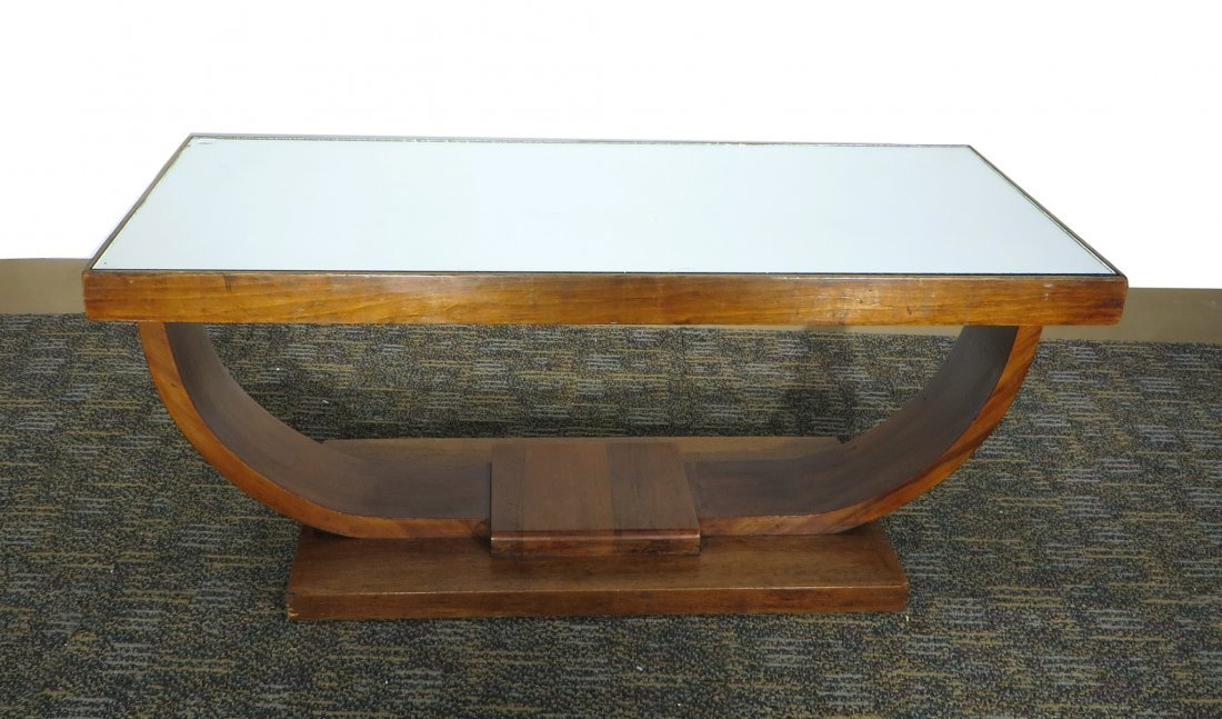 SMALL ART DECO COFFEE TABLE