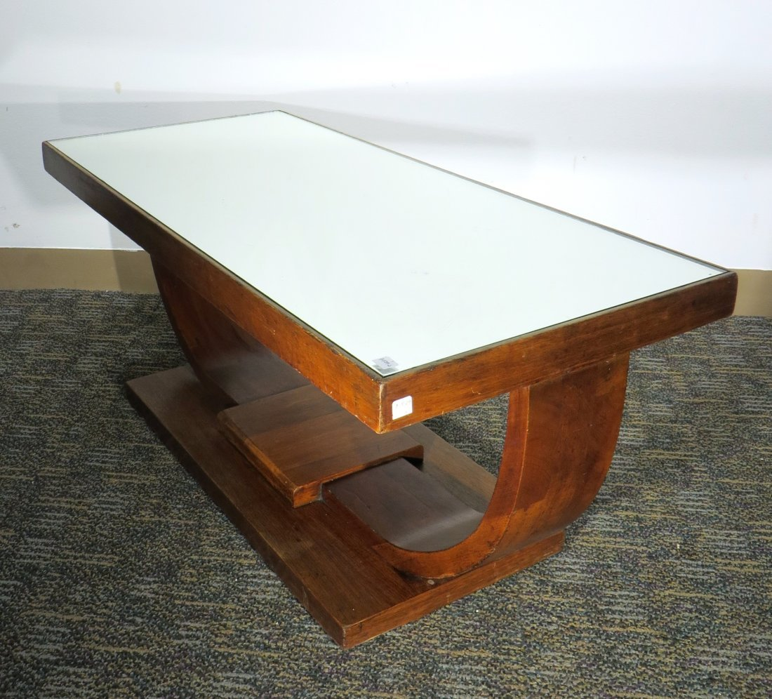 SMALL ART DECO COFFEE TABLE - 2