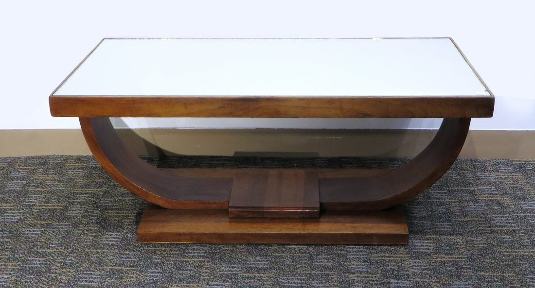 SMALL ART DECO COFFEE TABLE - 5