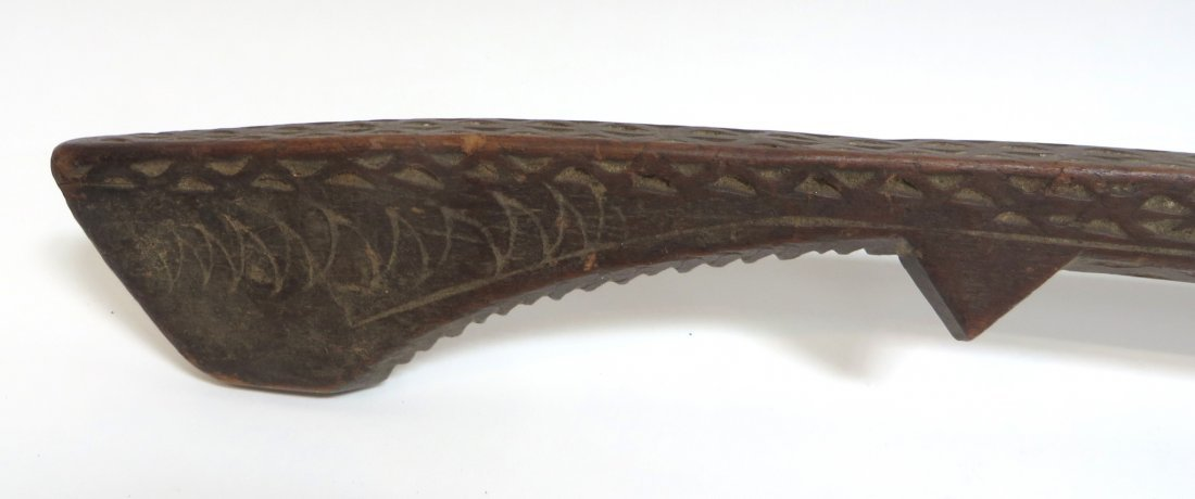 TRIBAL WOODEN SPOON - 5