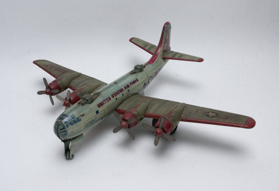 Y CO. TIN US AIR FORCE BK-250 FRICTION PLANE.