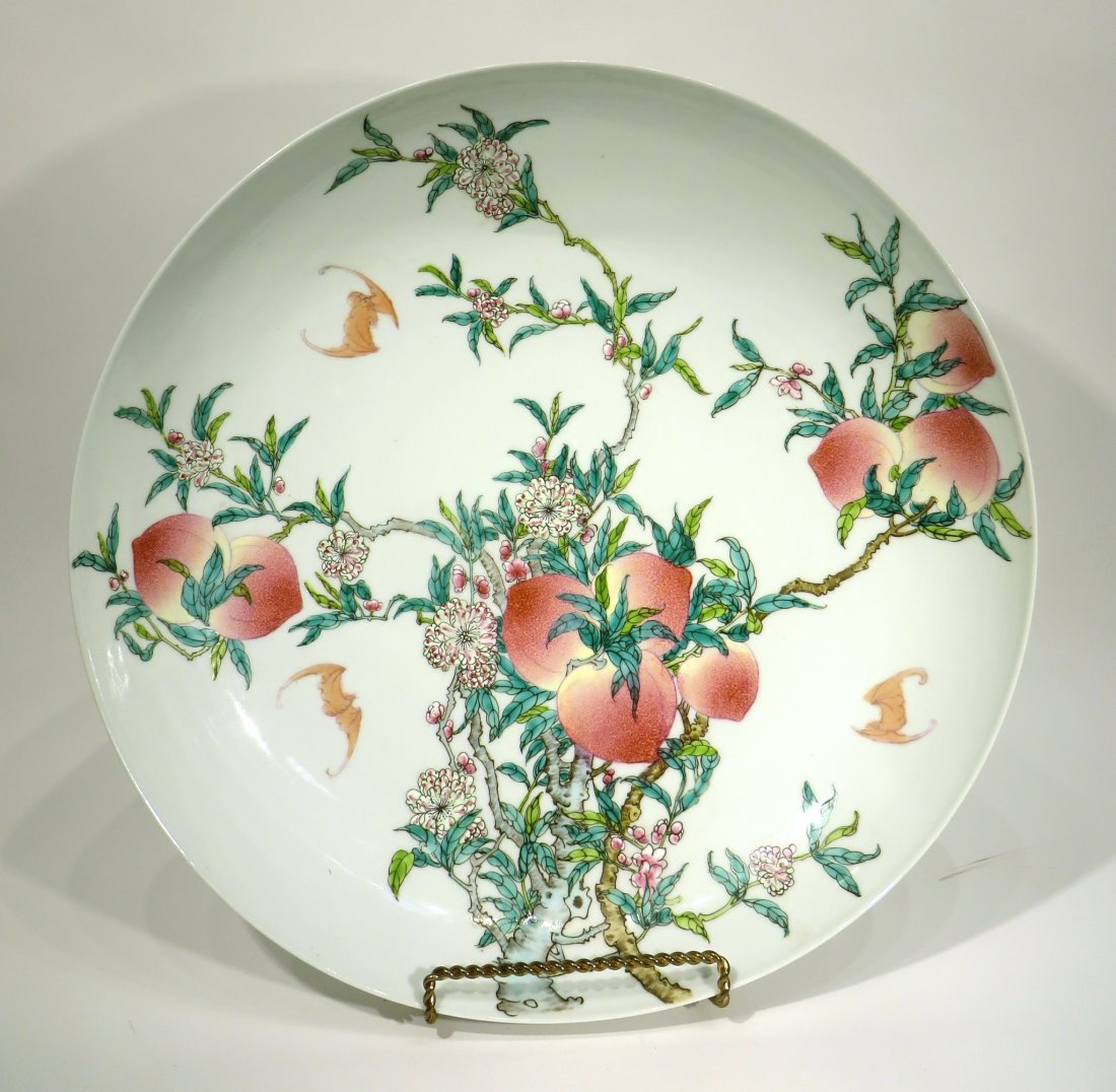 CHINESE PEACHES & BATS CHARGER