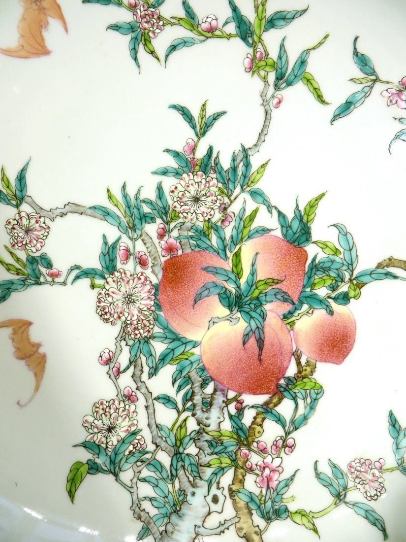 CHINESE PEACHES & BATS CHARGER - 2