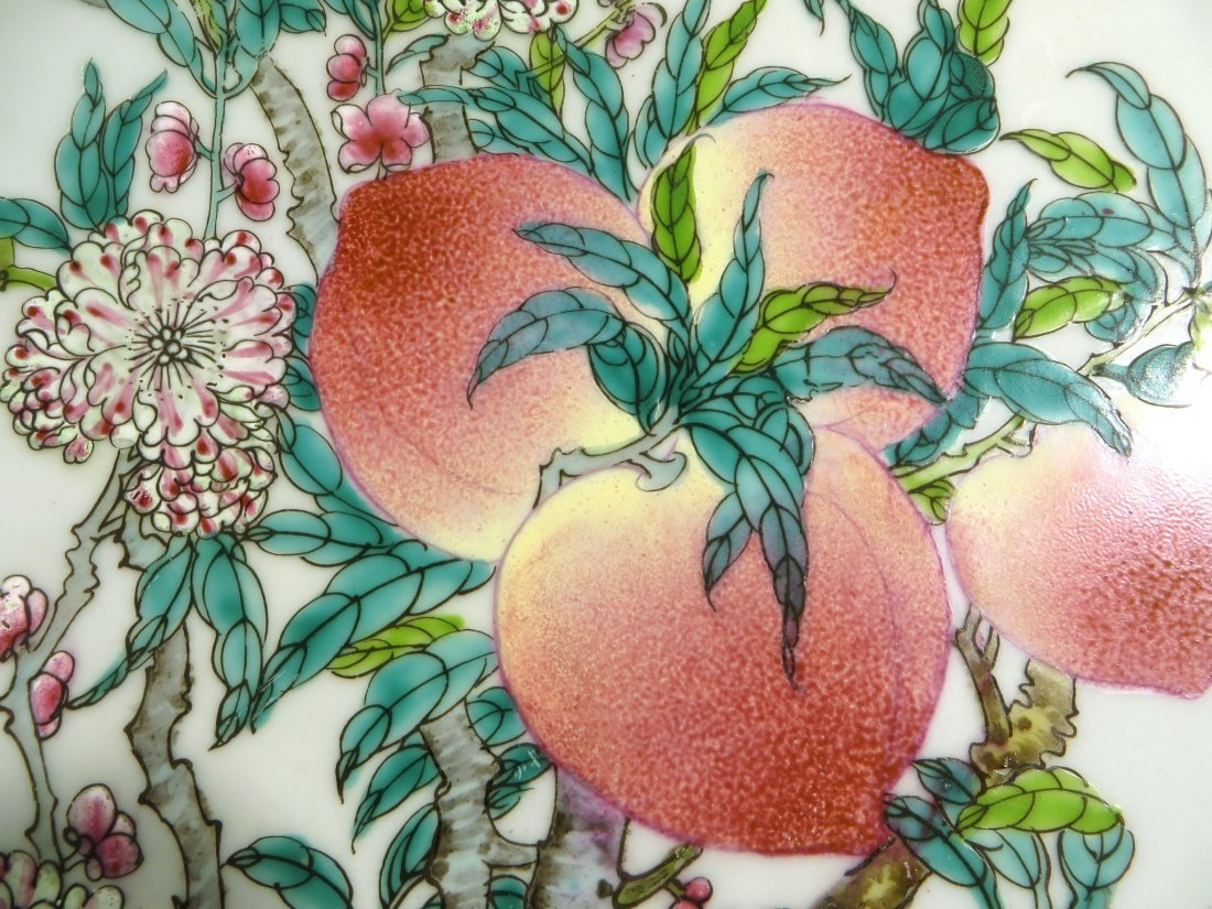 CHINESE PEACHES & BATS CHARGER - 3