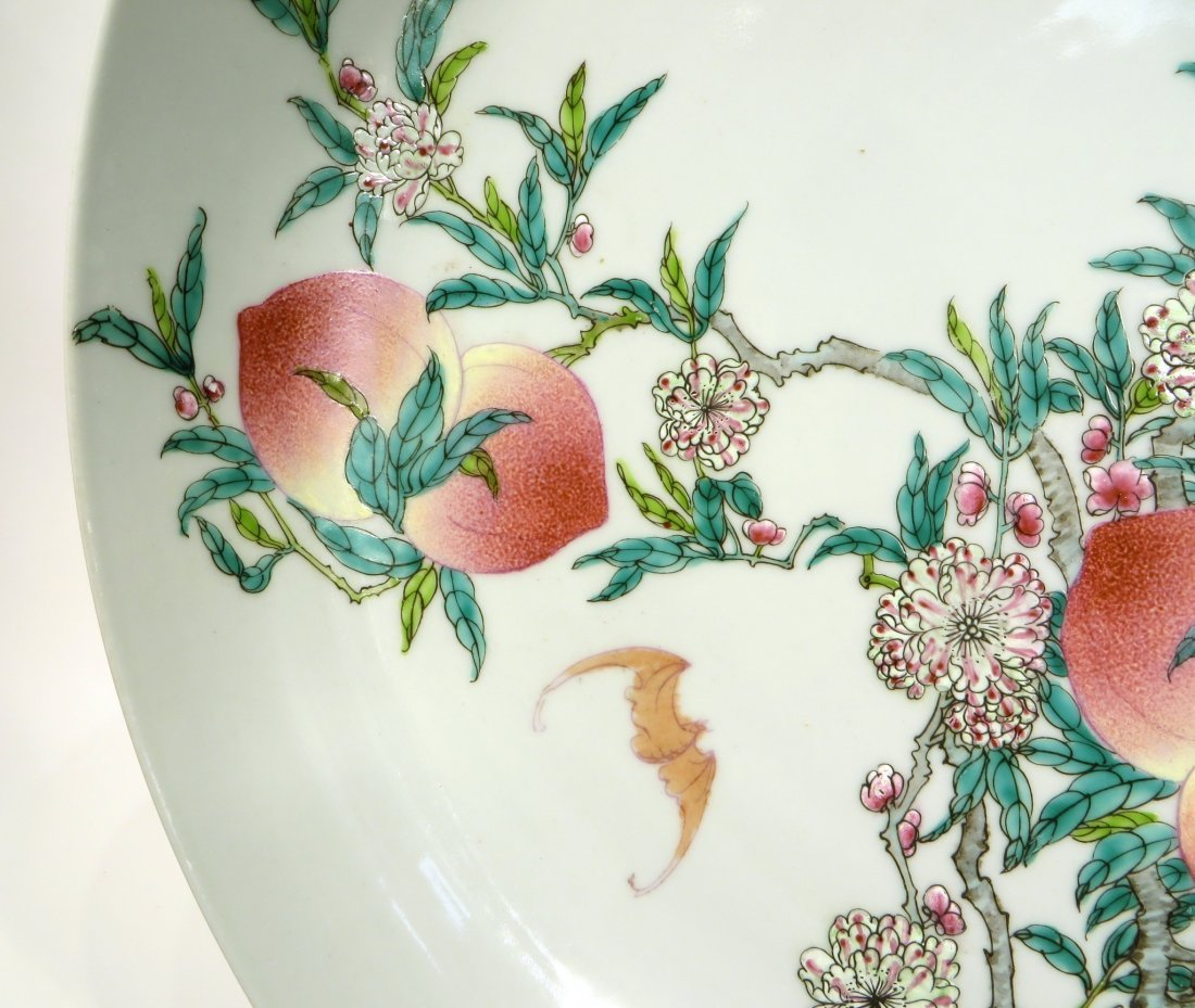 CHINESE PEACHES & BATS CHARGER - 4