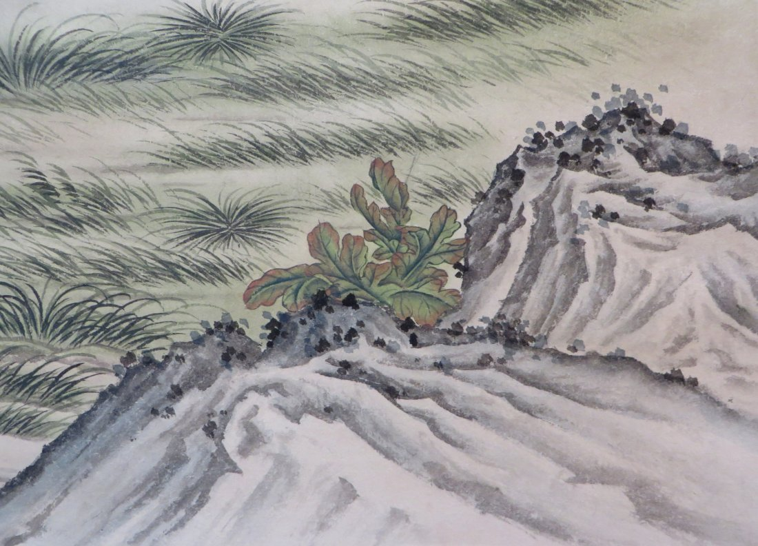 CHINESE HORSE SCROLL - 4