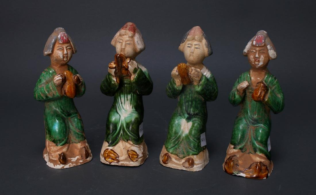 FOUR TANG DYNASTY FIGURES - 3