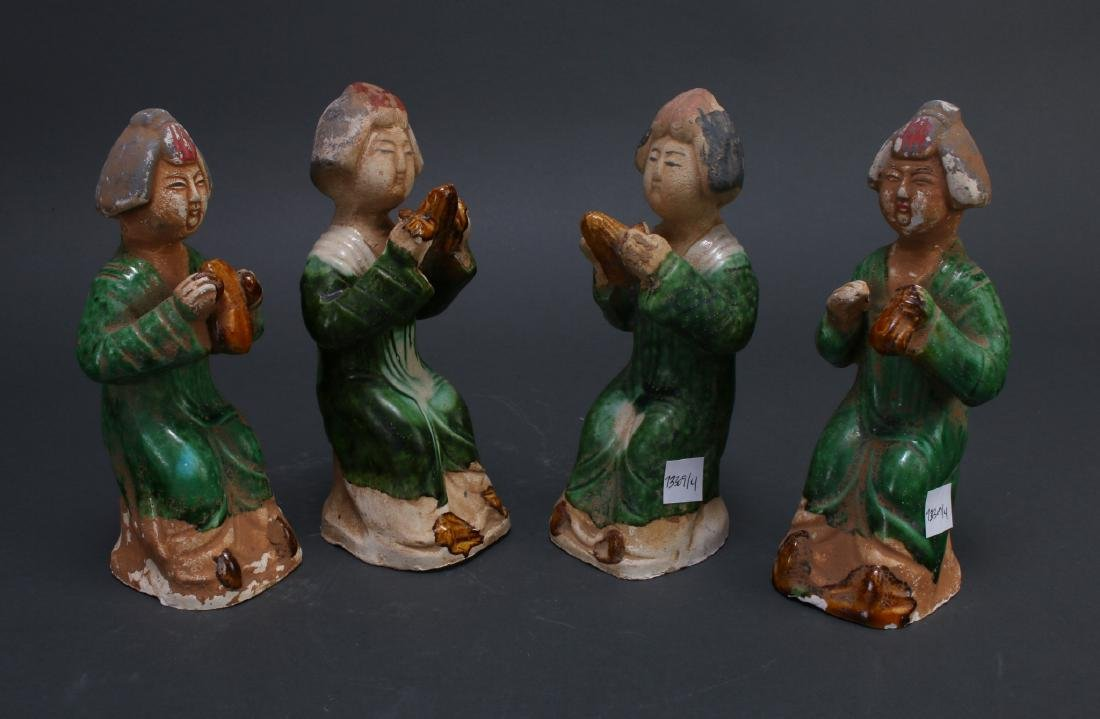 FOUR TANG DYNASTY FIGURES - 4