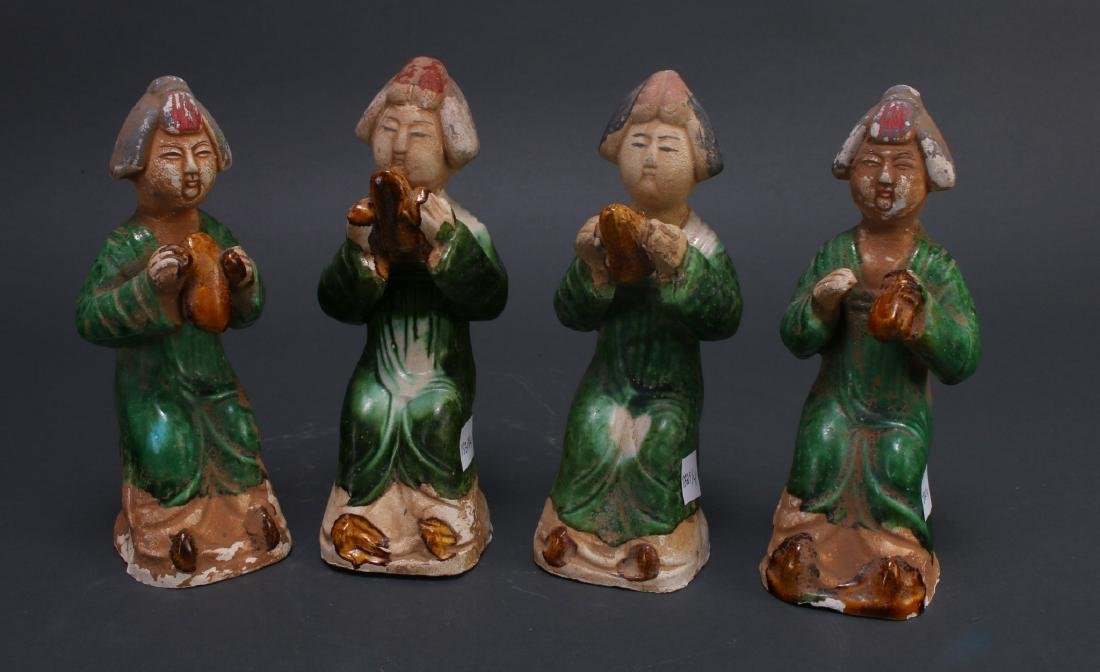 FOUR TANG DYNASTY FIGURES - 5