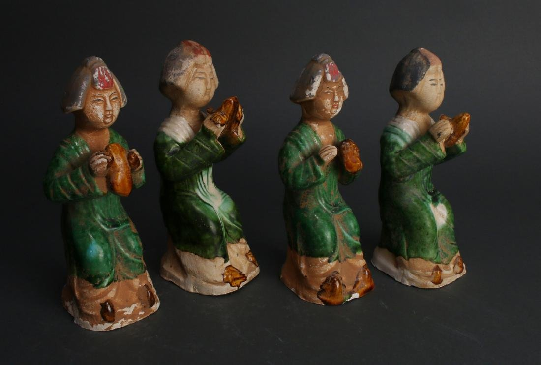 FOUR TANG DYNASTY FIGURES - 6