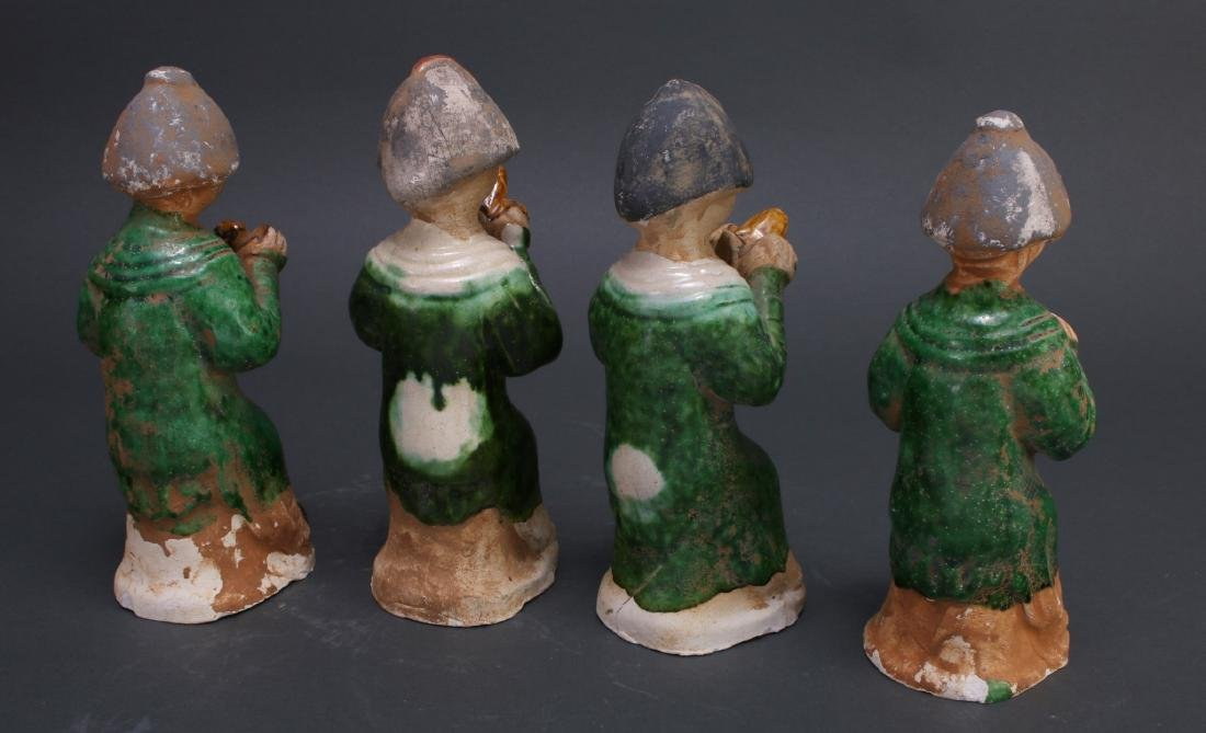FOUR TANG DYNASTY FIGURES - 7
