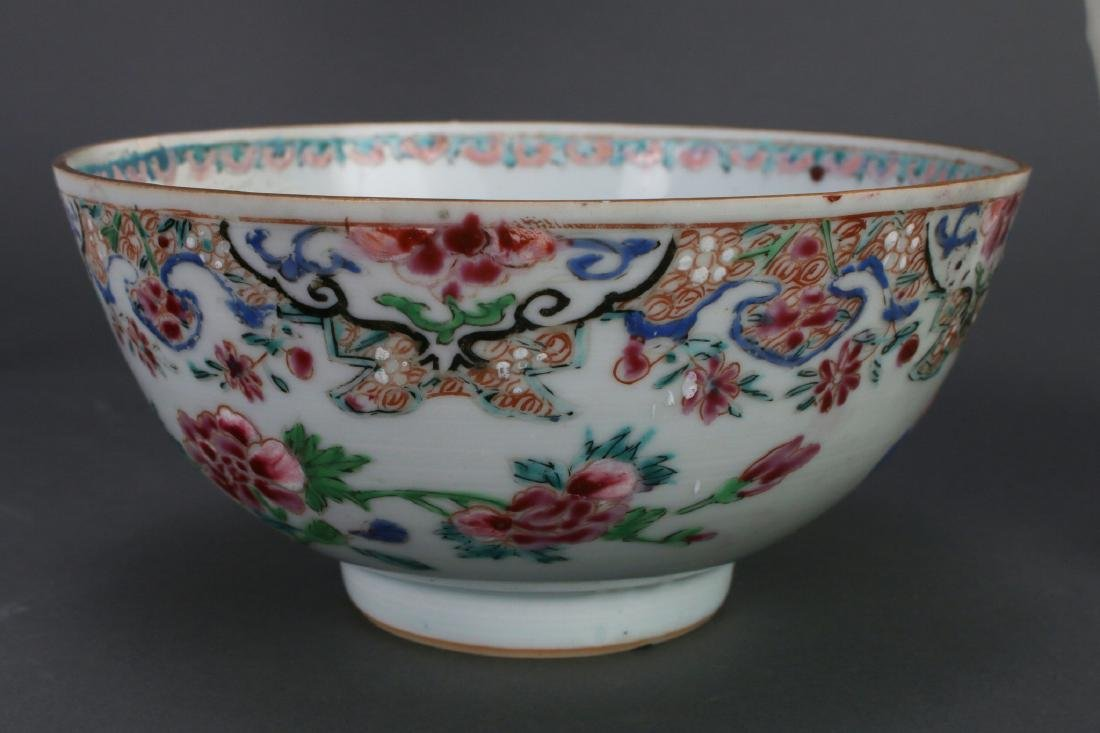 WU CAI TEA POT AND PORCELAIN BOWL - 4