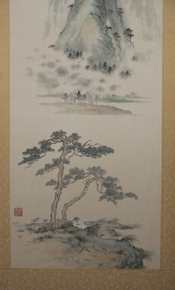 CHINESE PAINTING ON SILK - 6