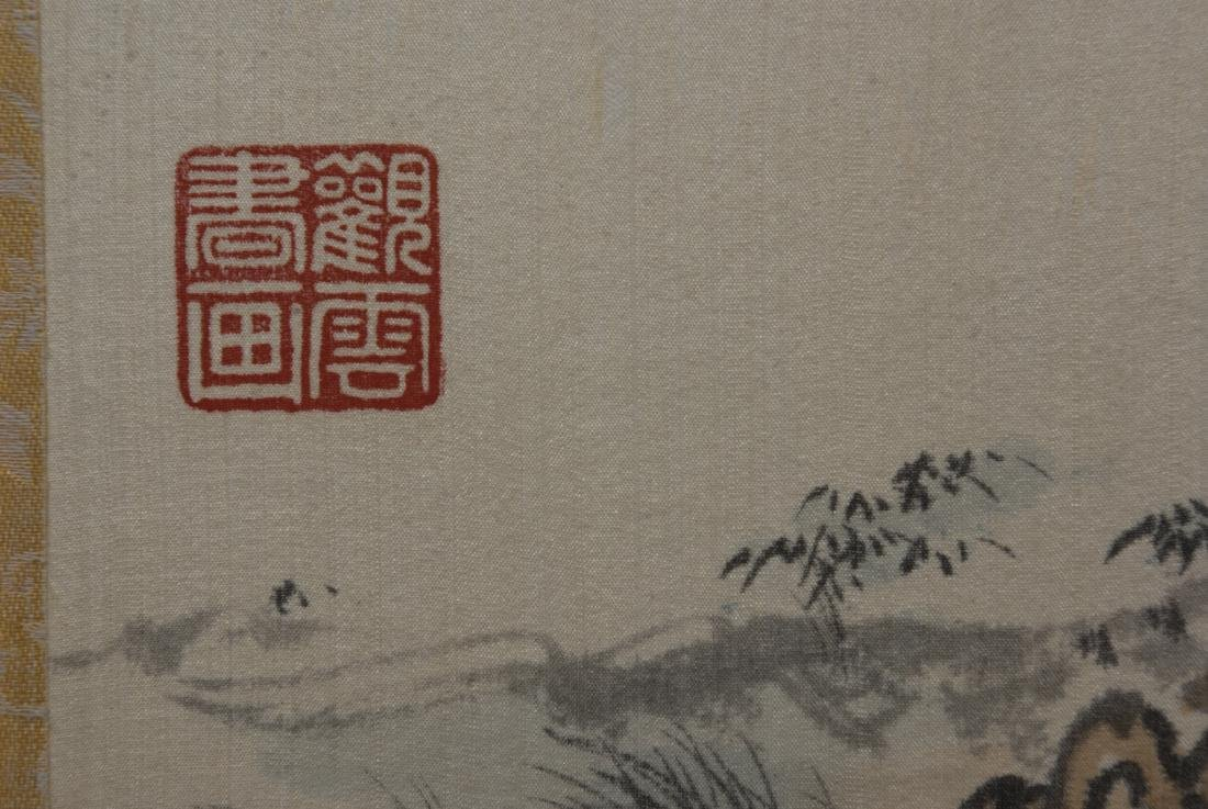 CHINESE PAINTING ON SILK - 7