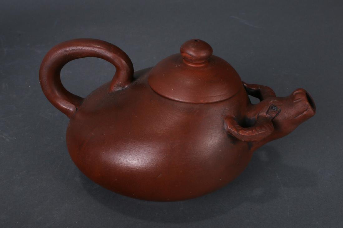 7 TEA POTS - 4