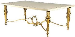 103: GILBERT POILLERAT (1902-1981) Rare table de salle