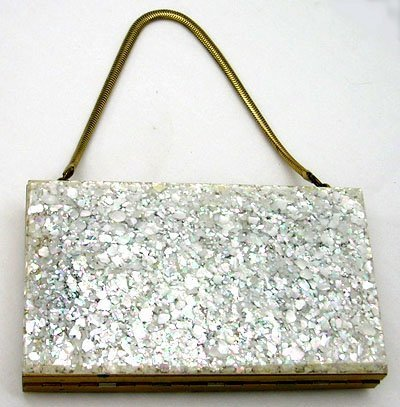 2: LADIES 1950'S SPARKLE ALL IN ONE PURSE