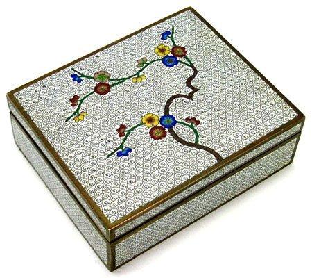 4: NICE ORIENTAL CLOISONNE BOX