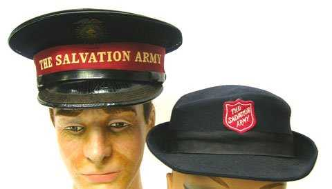 298  VINTAGE LADIES   MENS SALVATION ARMY HATS 57ef49c0d64