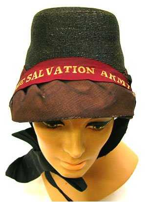 301  C.1920 S LADIES SALVATION ARMY HAT 01a8acce328