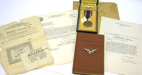 WWII USMC AVENGER MEDAL GROUP WITH PAPERS