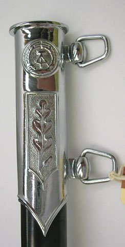 625: EAST GERMAN DRESS DAGGER WITH HANGERS AND BOX - 4