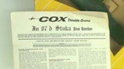 769: 1960'S COX THIMBLE DROME GERMAN STUKA GAS AIRPLANE - 3