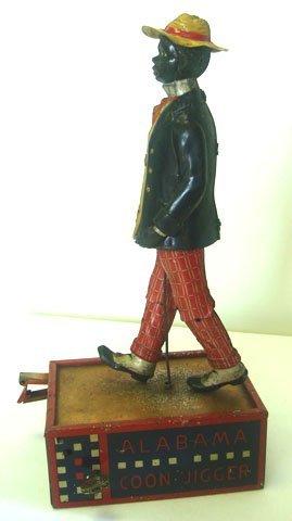 832: LEHMANN ALABAMA COON JIGGER 1912 GERMANY WIND UP