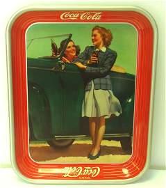 860: GREAT ORIGINAL 1942 COCA COLA TRAY