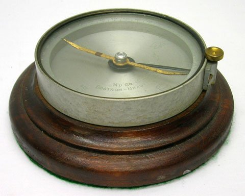 990: C.1920's BOSTROM-BRADY MFG. ATLANTA GA COMPASS - 2