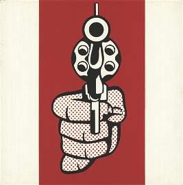 Roy Lichtenstein - Pistol, from Banner, Multiples