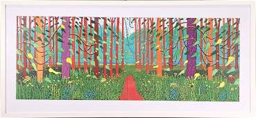 David Hockney - The Arrival of Spring in Woldgate, East