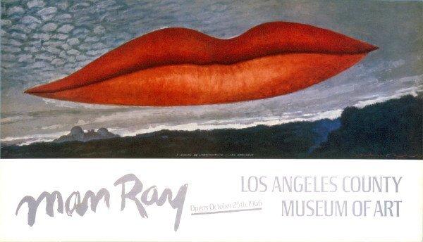 101047: 1966 Man Ray Lips offset