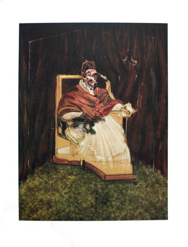 30236: 1995 Bacon Portrait Pope Innocent XII