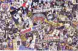 Dwight Baird - Blue Jay Jumble - 1998 Watercolor -