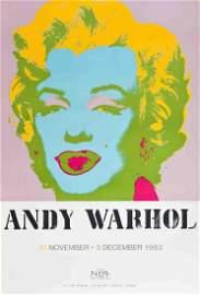 "Andy Warhol - Marilyn Monroe - 1983 Serigraph 30"" x"