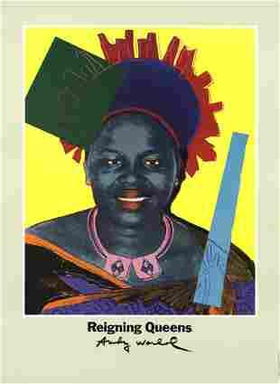 Andy Warhol - Queen Ntombi Twala Of Swaziland - 1986